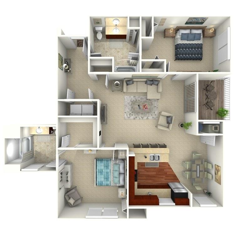 Bridgewater floor plan image