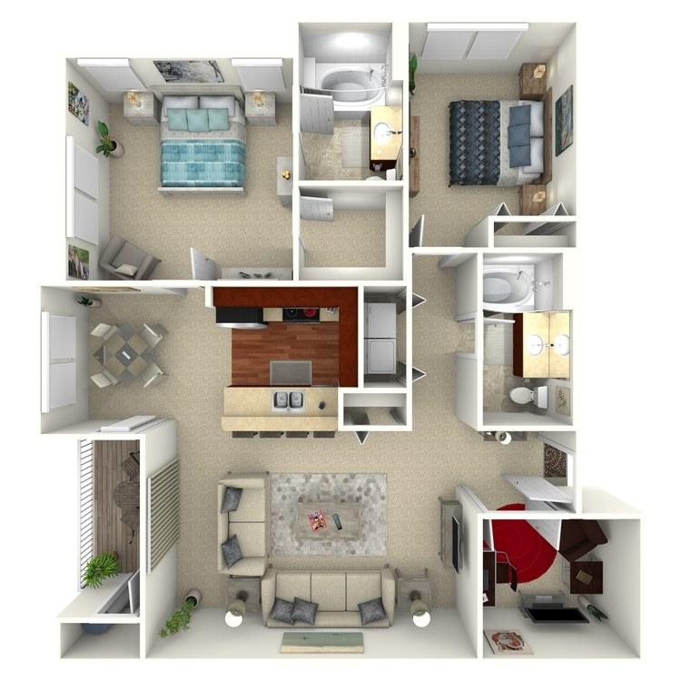 Bloomfield floor plan image