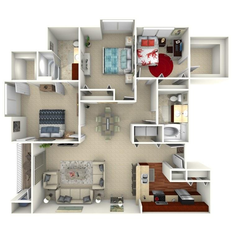 Cambridge Select floor plan image