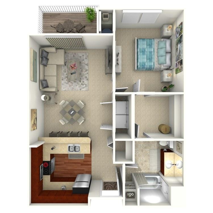 Avon floor plan image