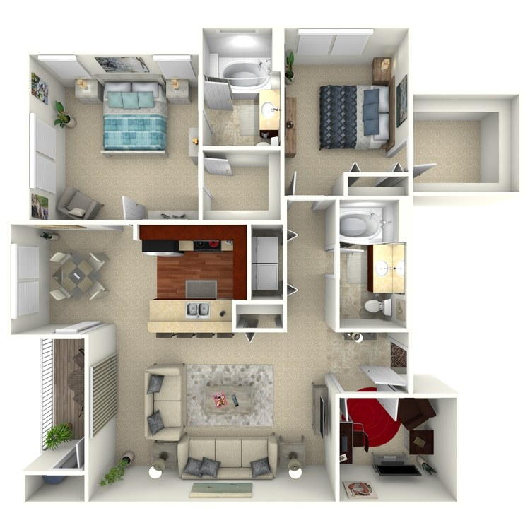 Bloomfield Select floor plan image