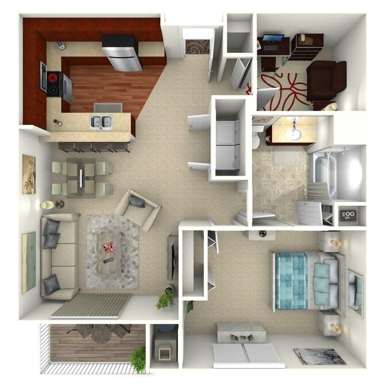 Ansonia floor plan image