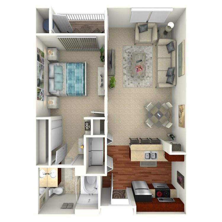 Ashley floor plan image