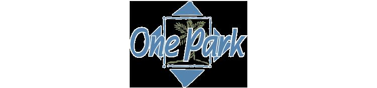 One Park Apartments Logo