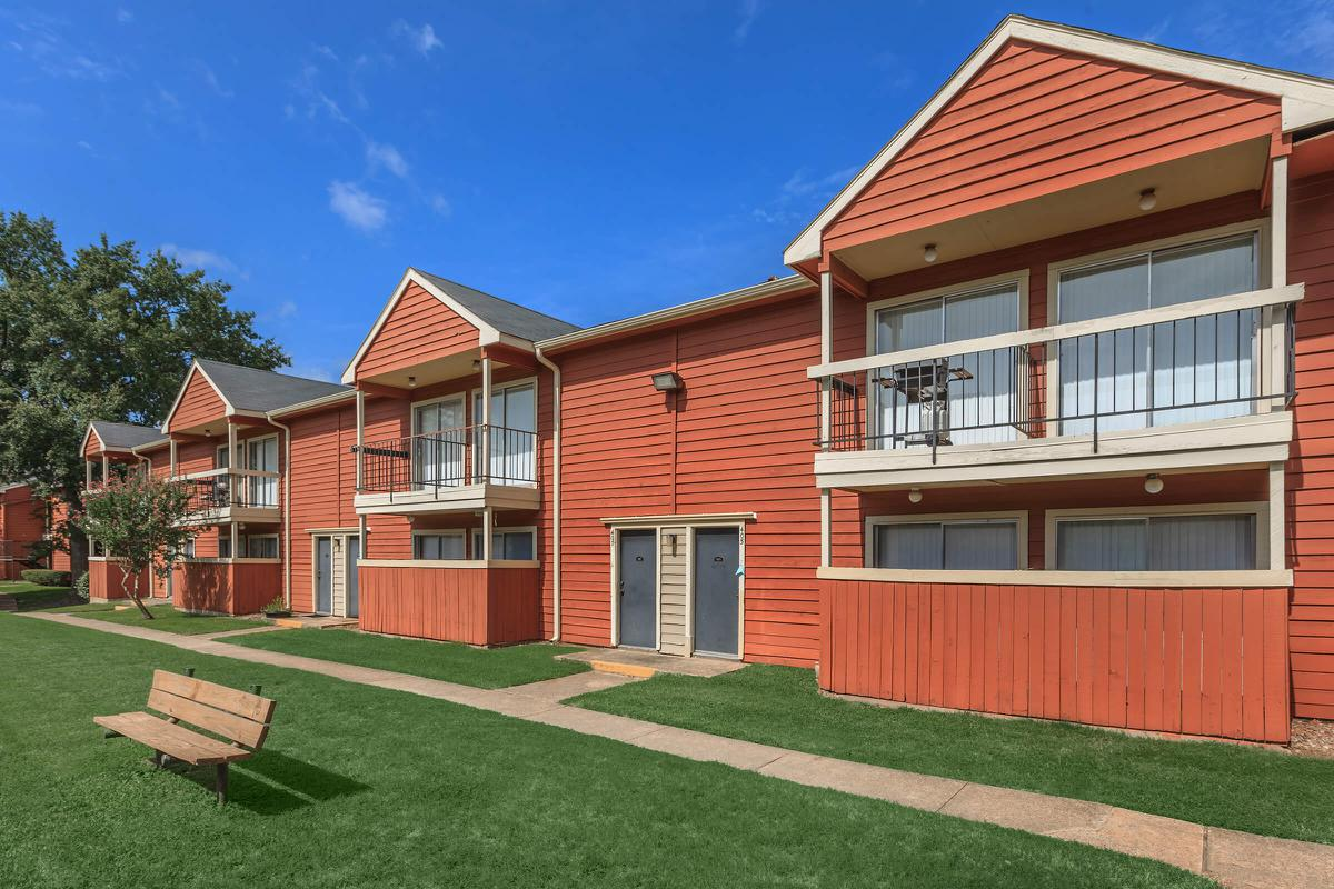 Apartment homes with a personal balcony or patio