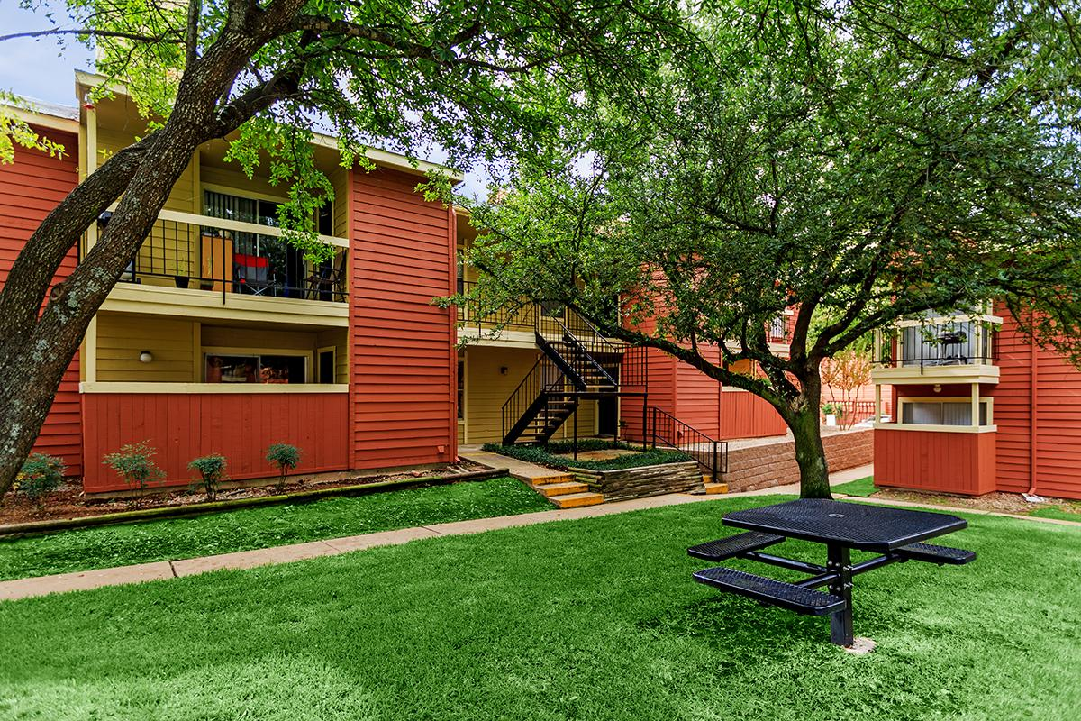 Views of the beautiful trees from your apartment home in Texarkana