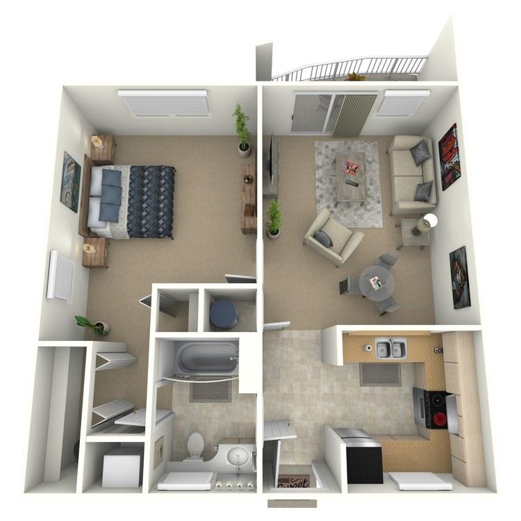 Floor plan image of Clare