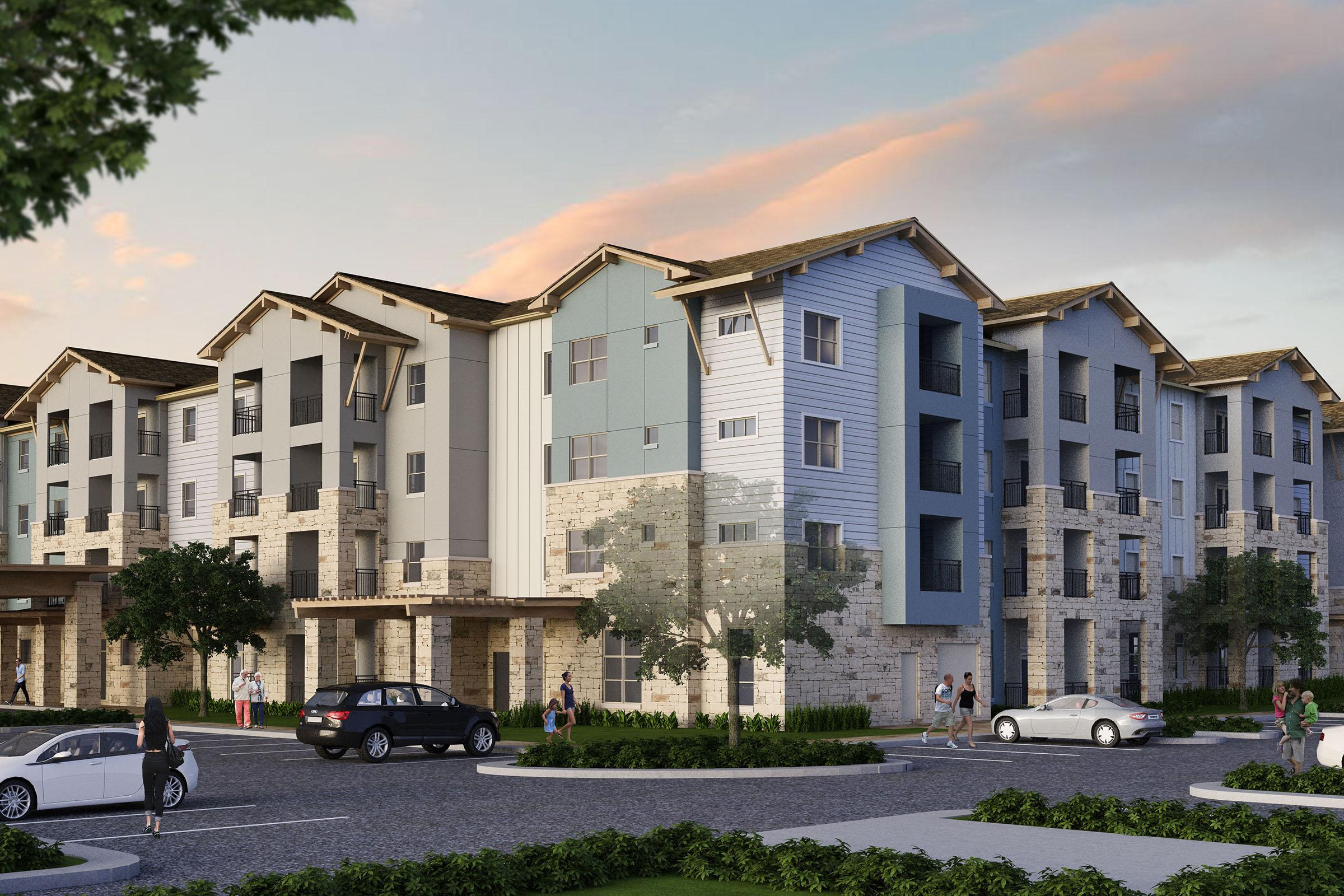 brand-new active adult living community in austin