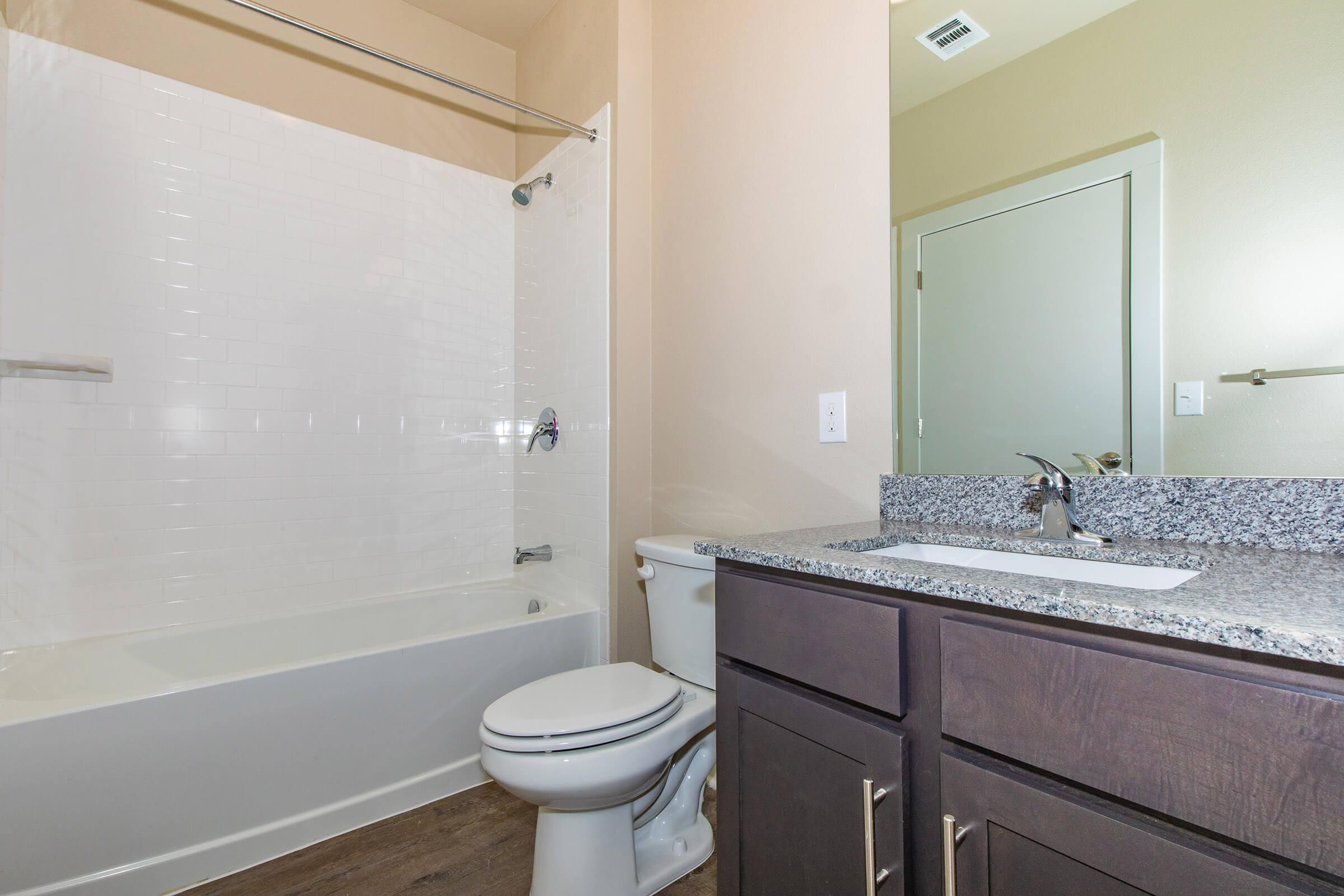 bathrooms  in our active adult living community