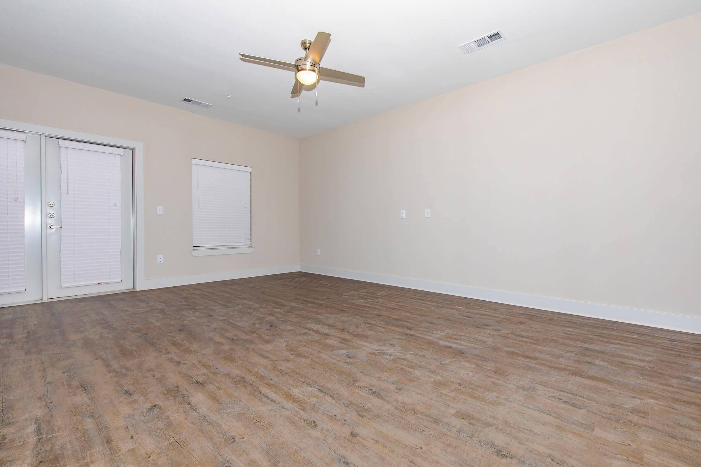 wood plank flooring in our active adult living community