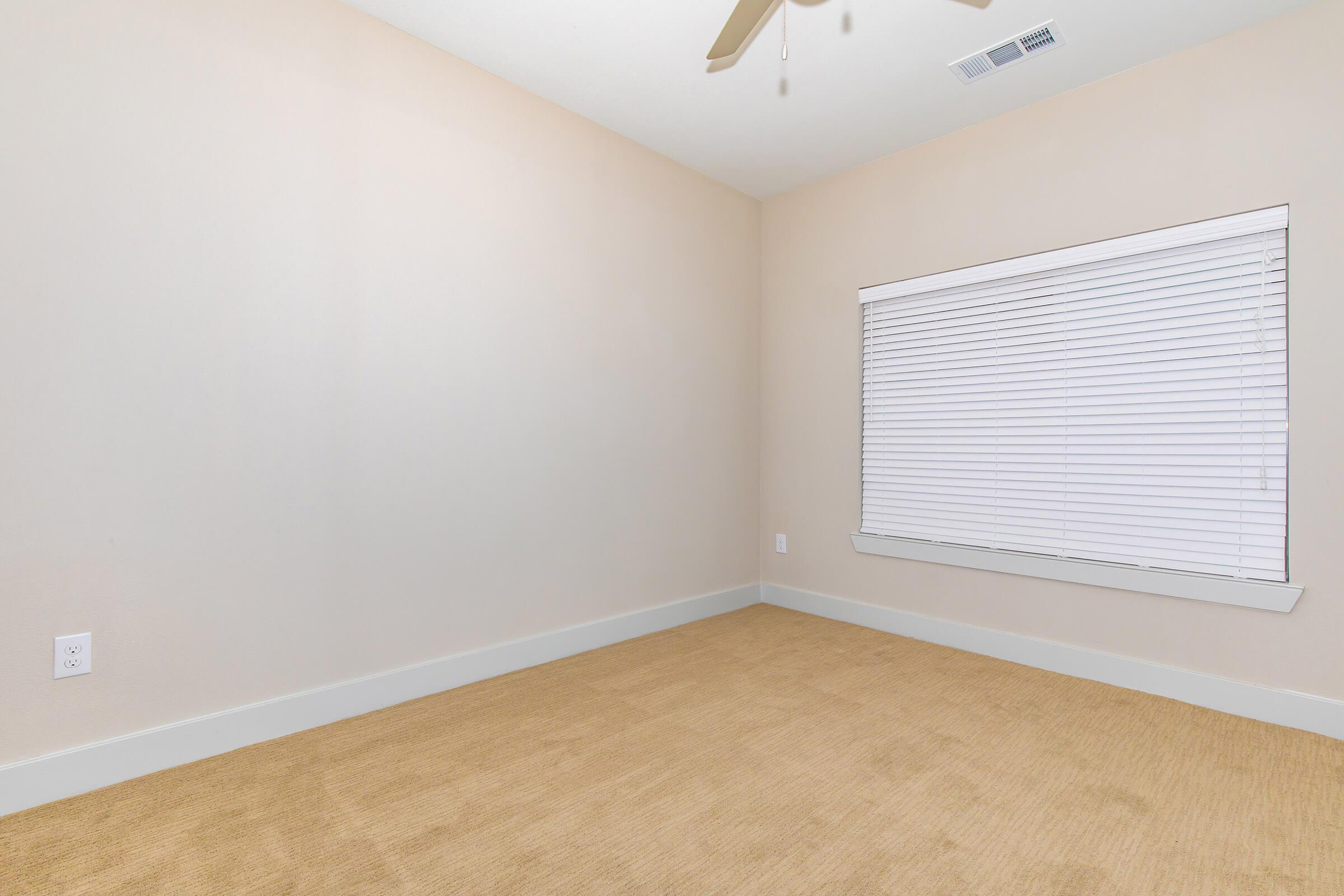 bedroom  in our active adult living community