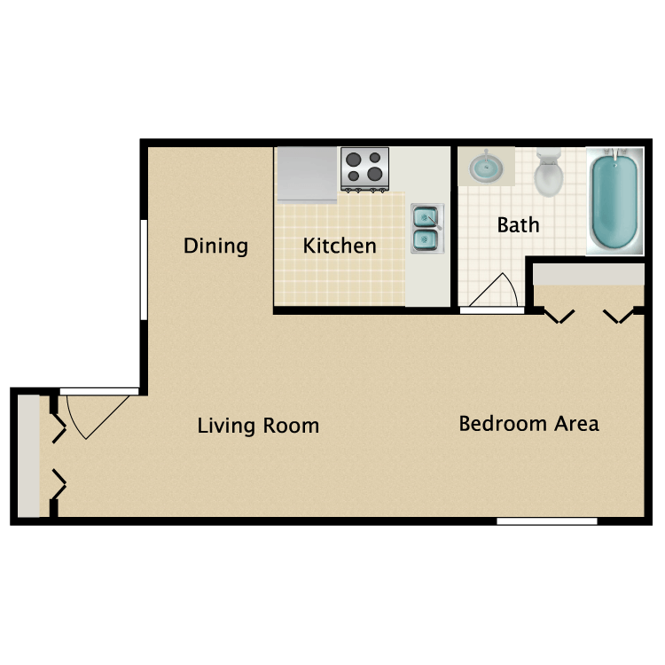 Floor plan image of Micro A