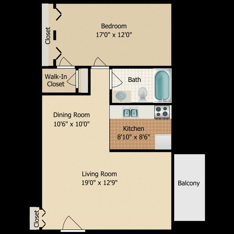 Birch + Den floor plan image