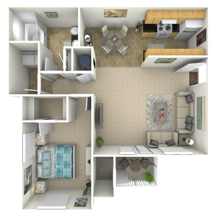 Floor plan image of 1A