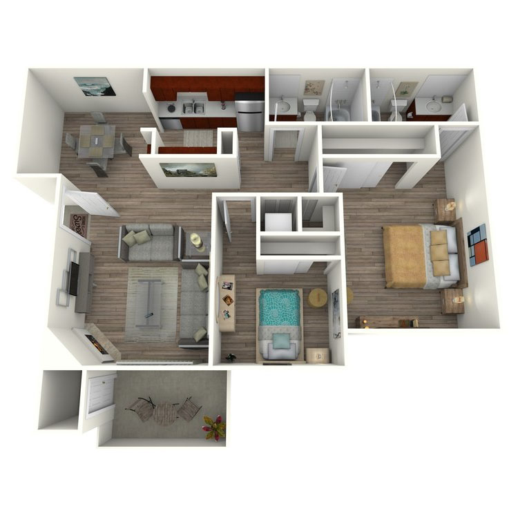 Floor plan image of Sage Contemporary