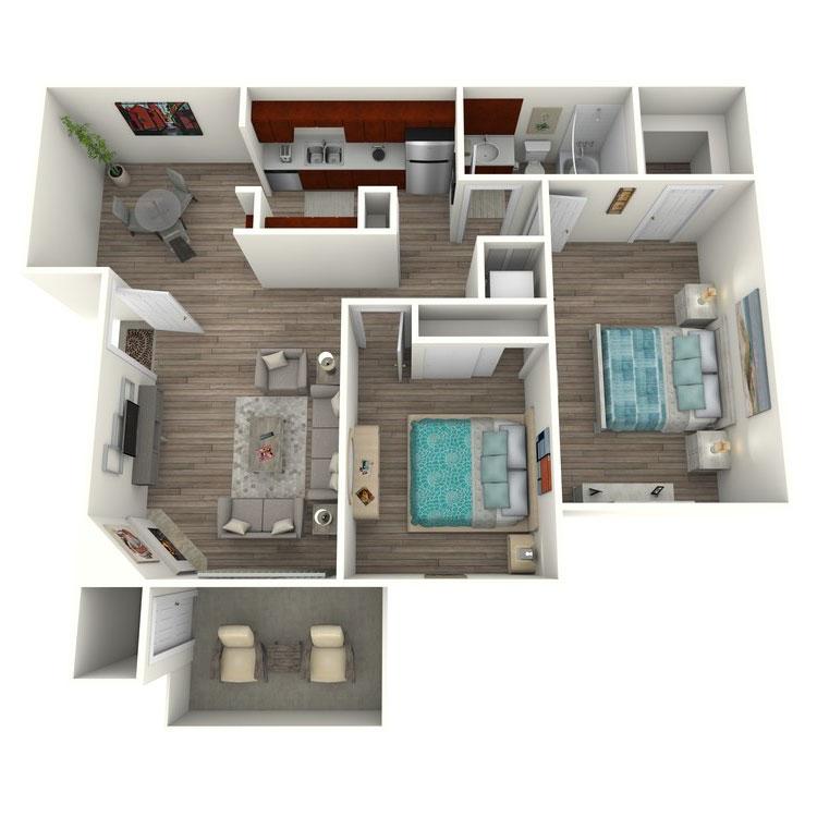 Floor plan image of Eucalyptus Classic