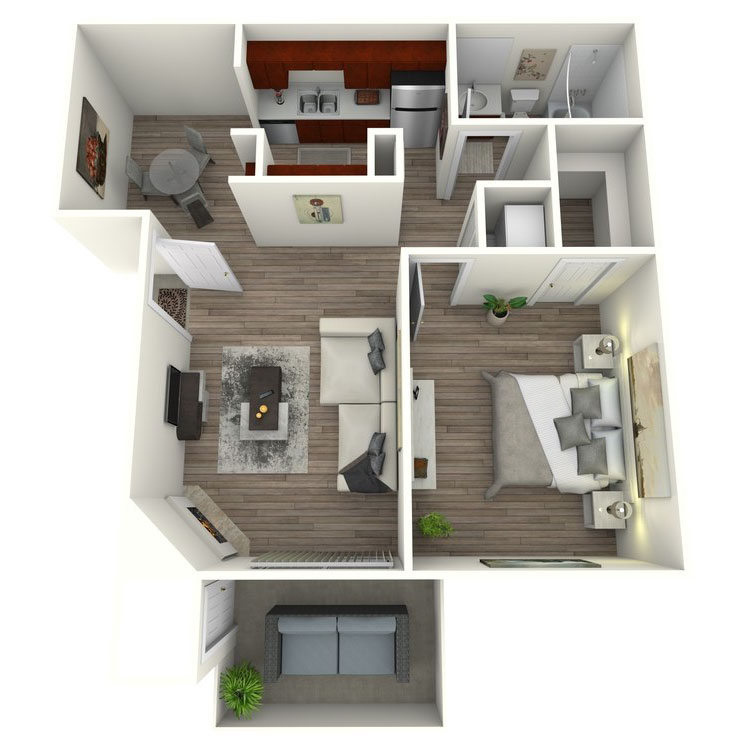 Floor plan image of Chaparral Contemporary