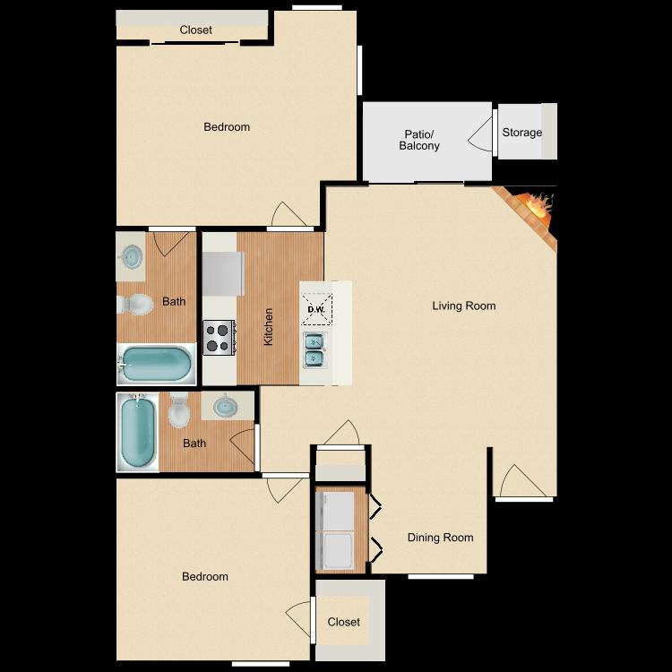 Floor plan image of Plan B5