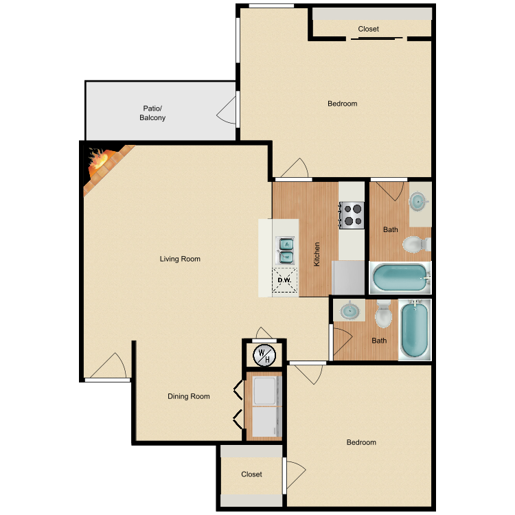 Floor plan image of Plan B4