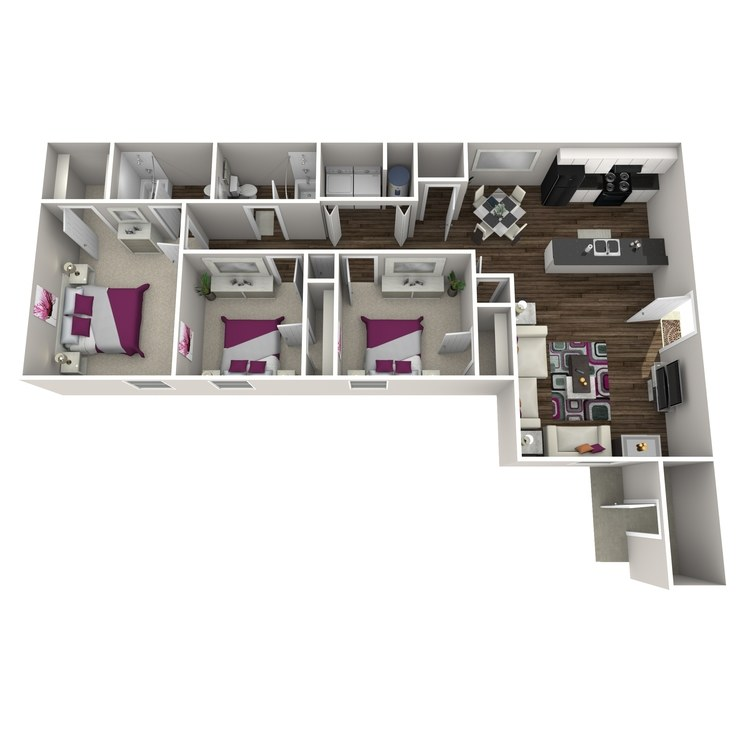 Floor plan image of Camellia