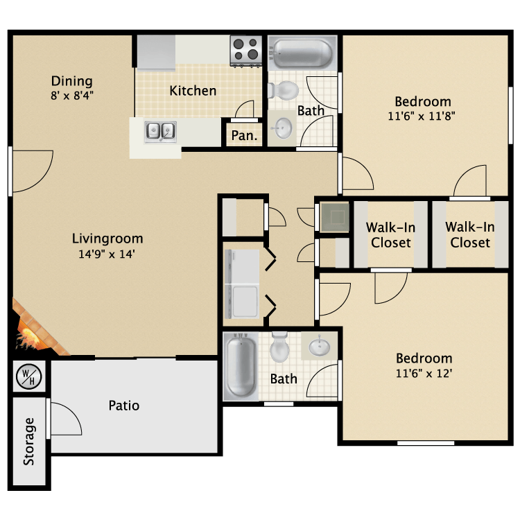 Mills Run Apartments - Availability, Floor Plans & Pricing