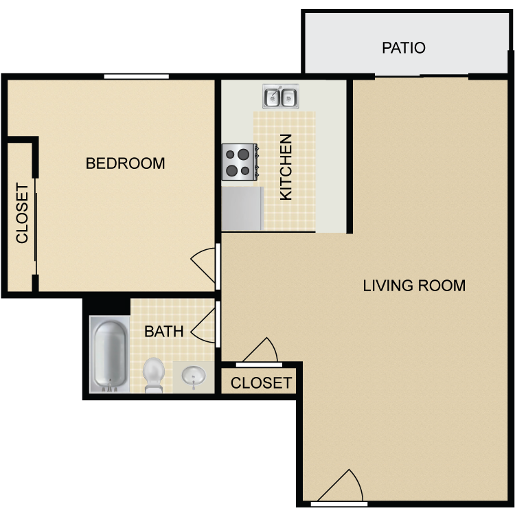 Floor plan image of A5