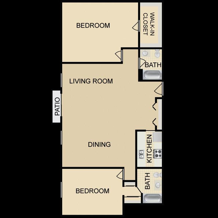 B5 floor plan image