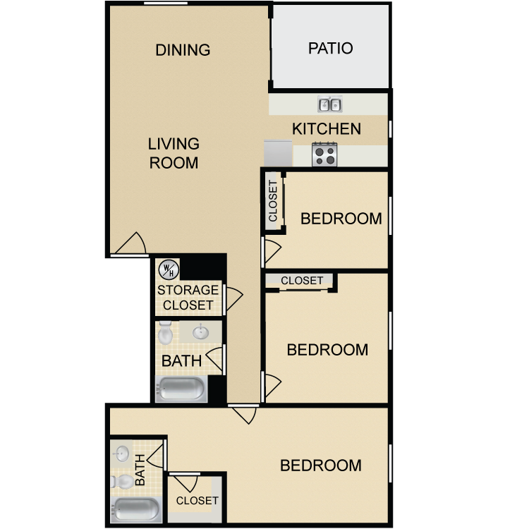 C3 floor plan image