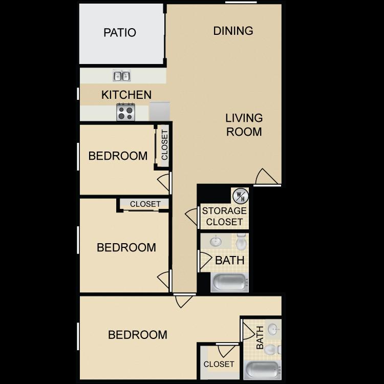 C4 floor plan image
