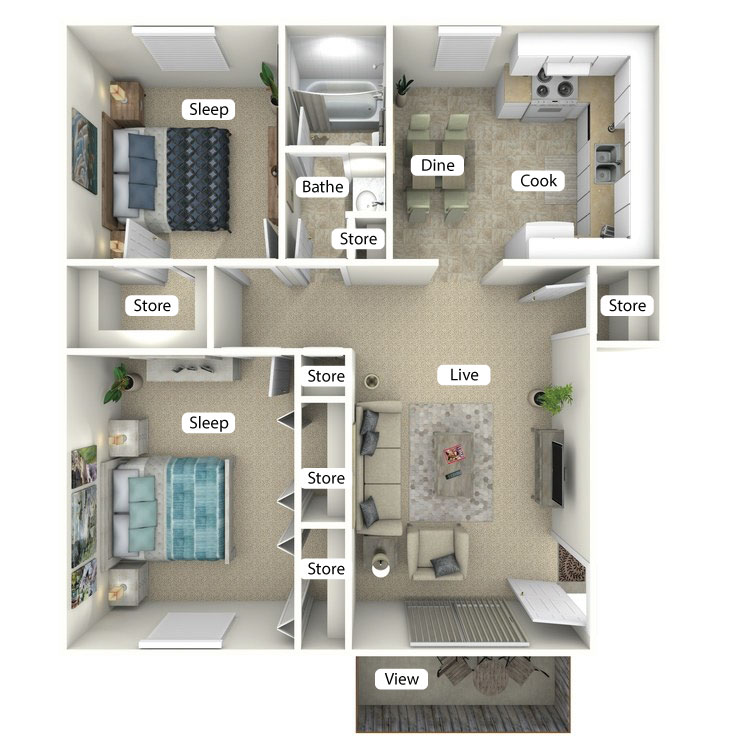 Floor plan image of The Seaboard