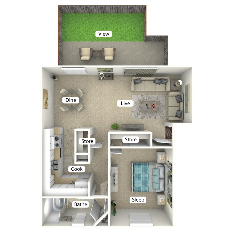 Floor plan image of The Catamaran