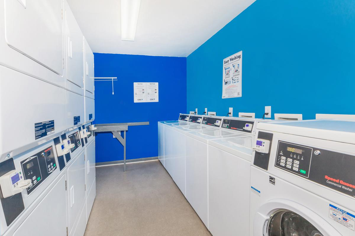 Laundry Facility at Hillhurst Apartments