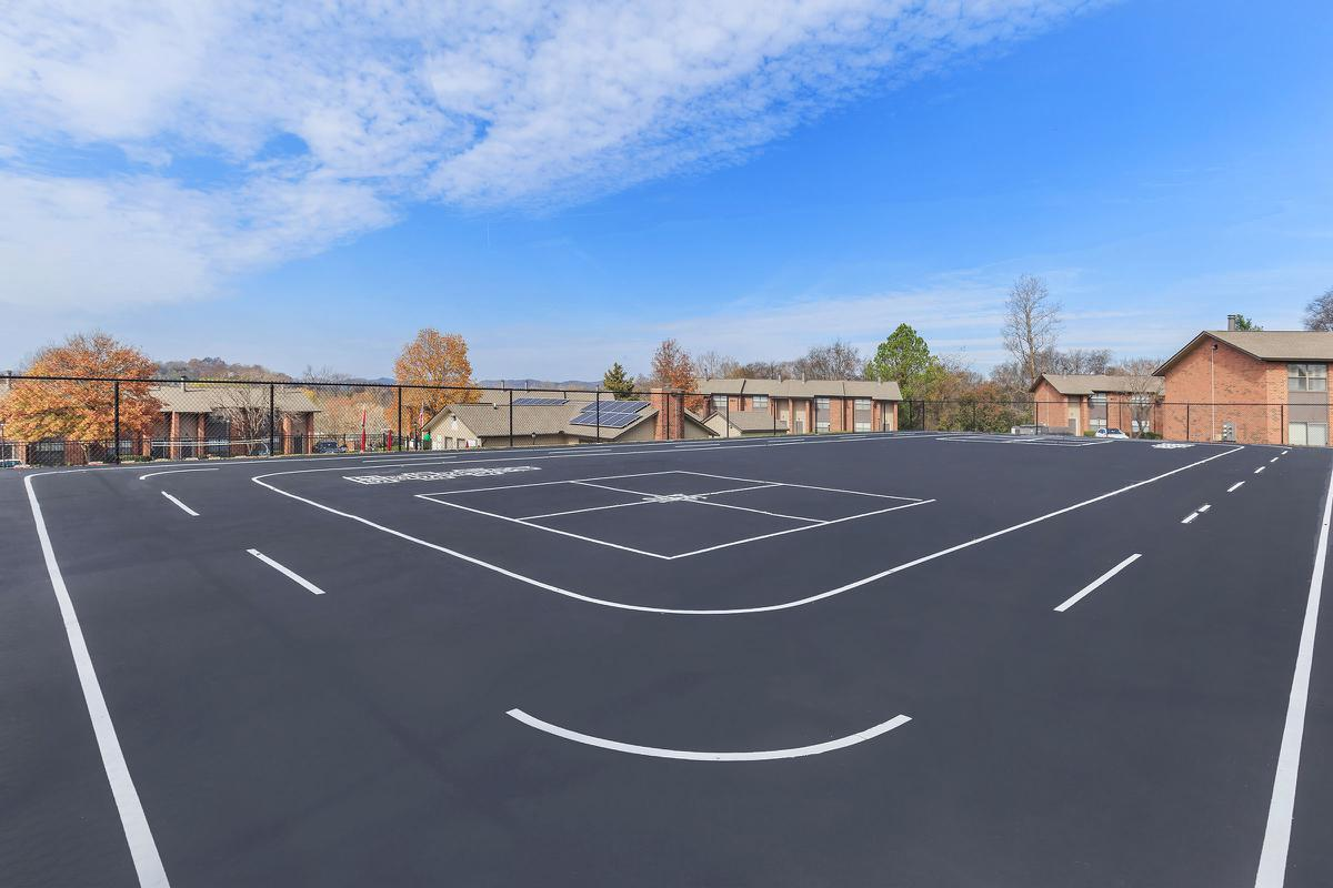 Sports Courts and Track