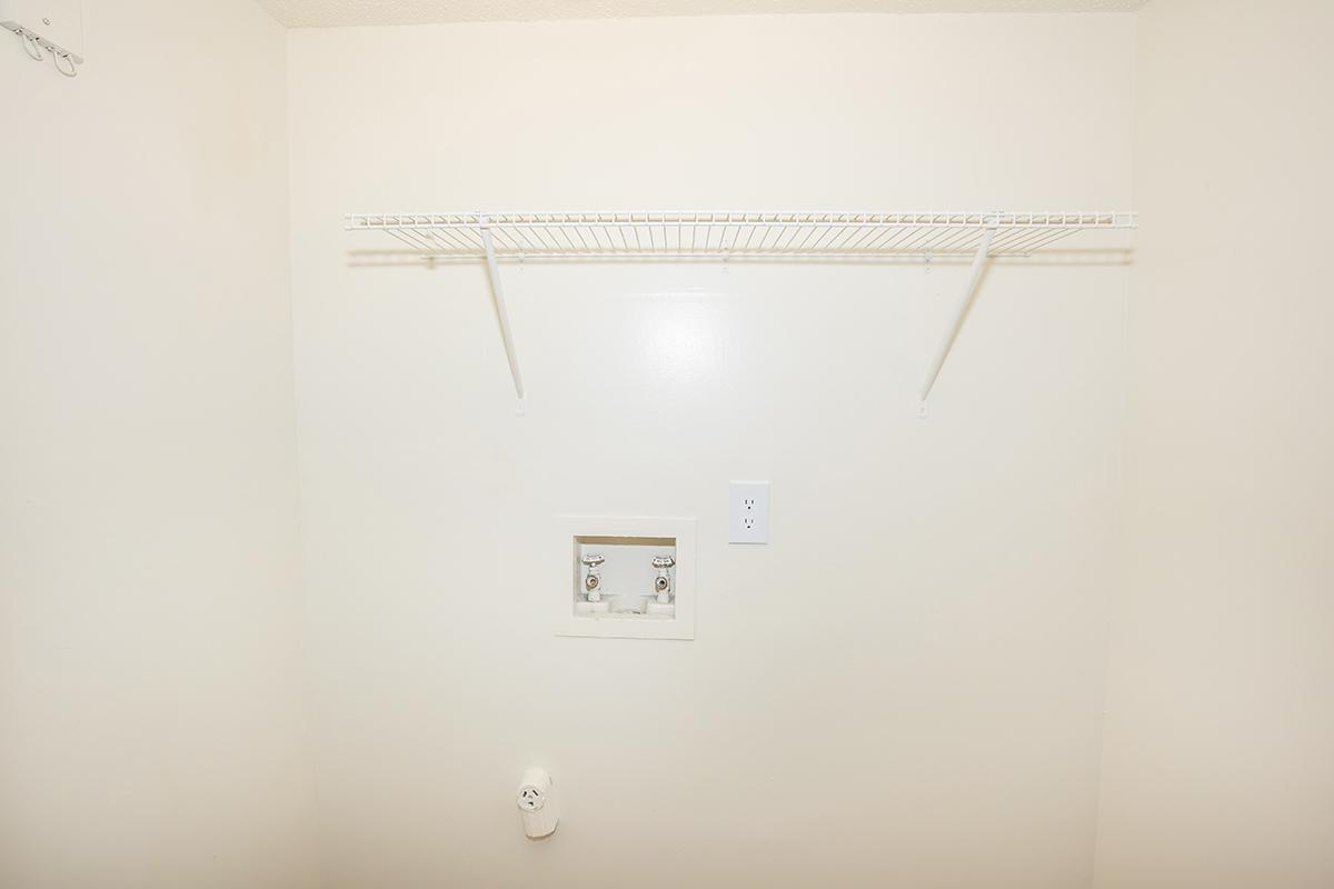 Washer And Dryer Hookups