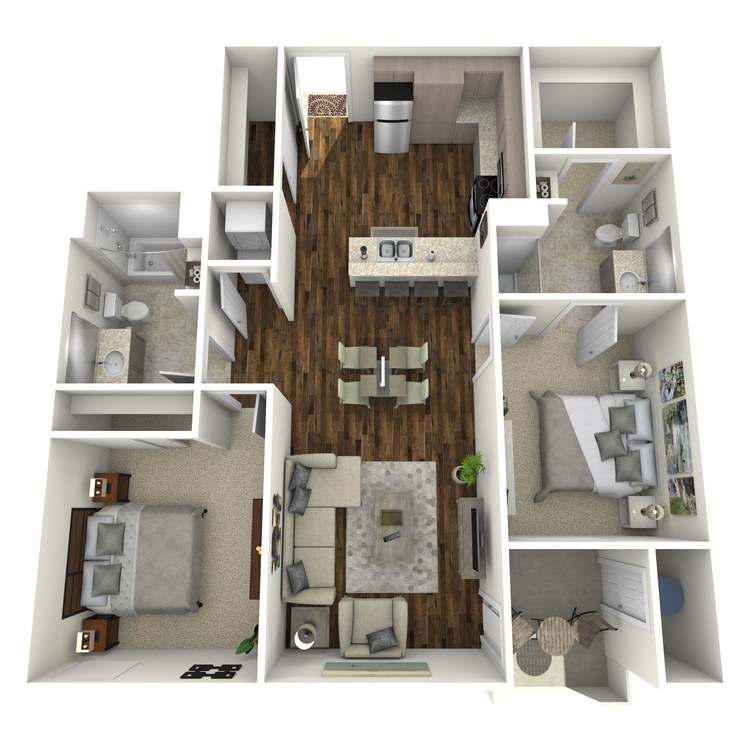 Floor plan image of 2A Type A