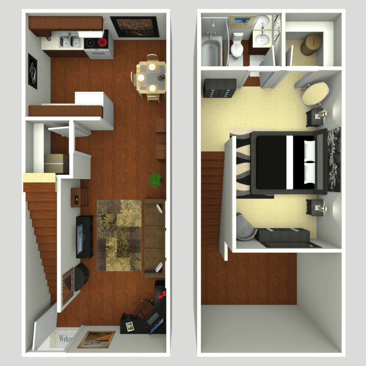 Floor plan image of The Loft