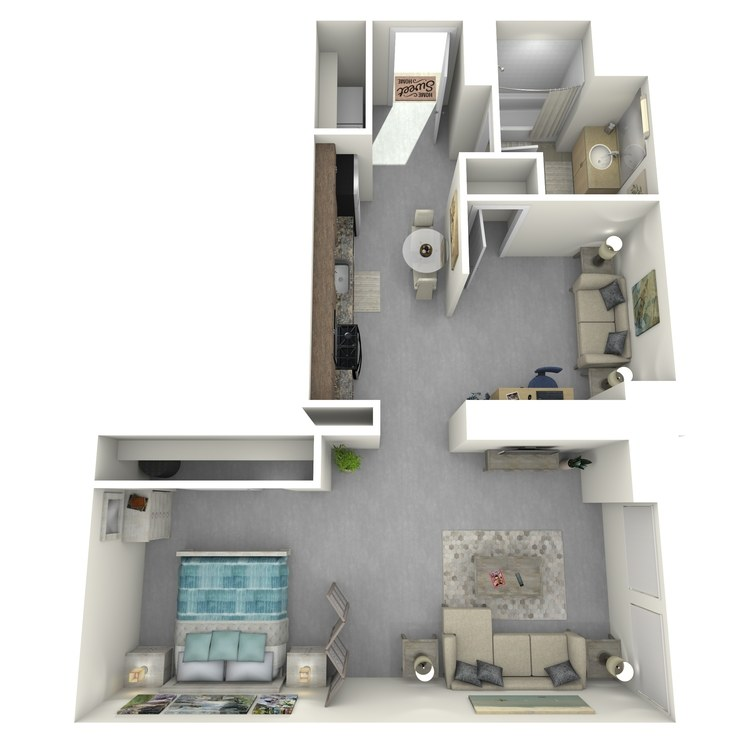 Floor plan image of Residence 23