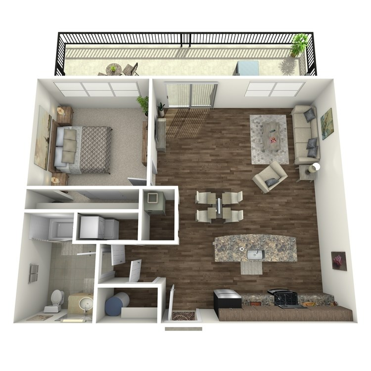 Floor plan image of Residence 78