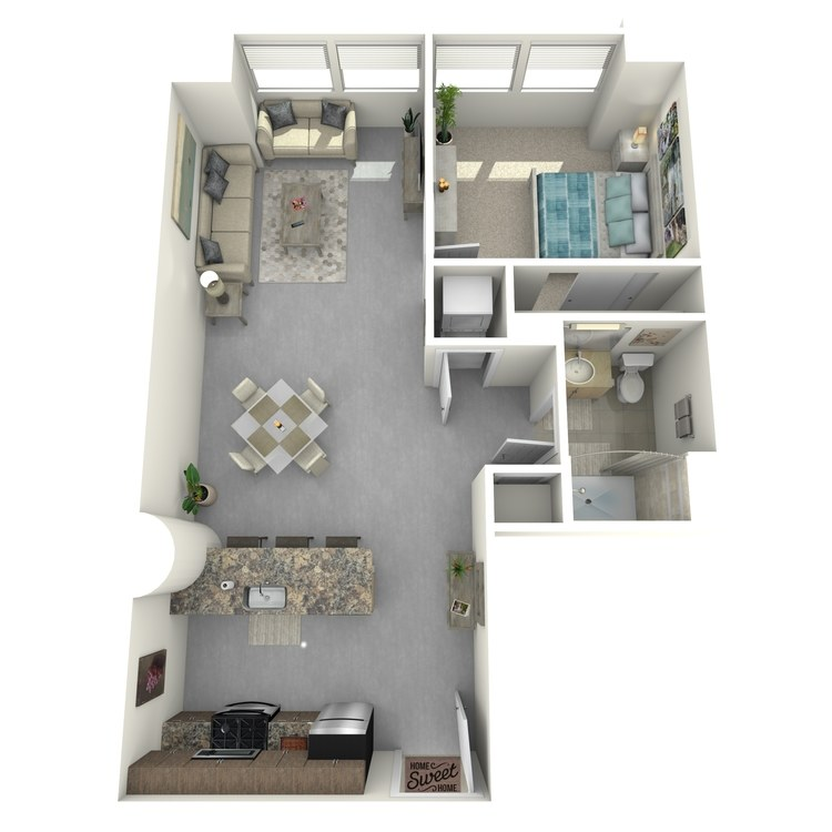 Floor plan image of Residence 04