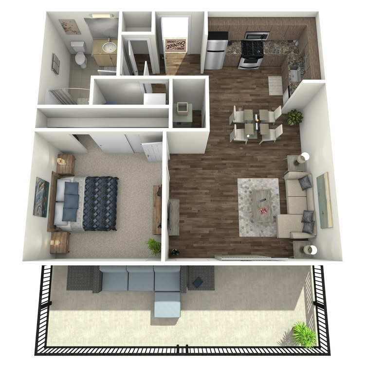 Floor plan image of Penthouse 35