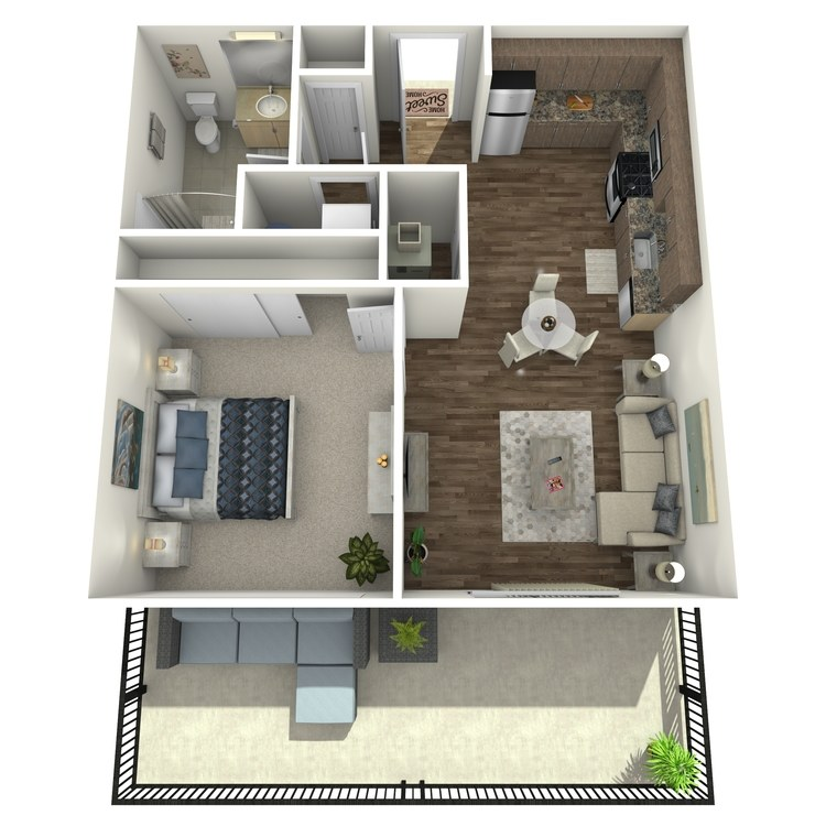 Floor plan image of Residence 18