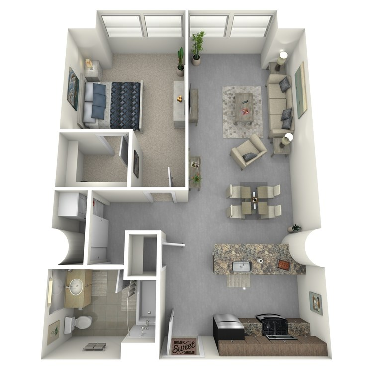 Floor plan image of Residence 21