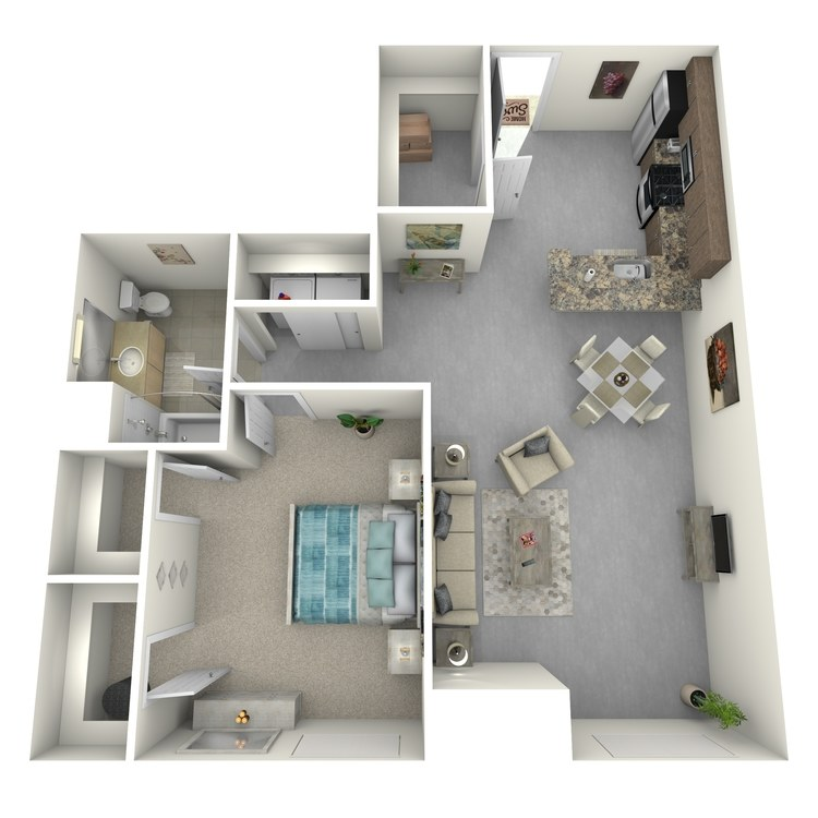 Floor plan image of Residence 41
