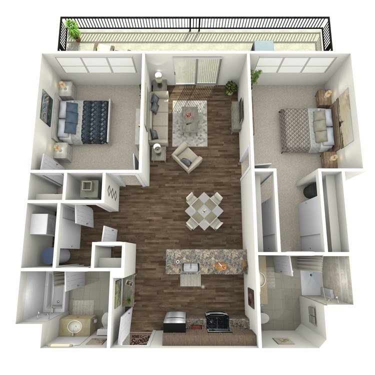 Floor plan image of Penthouse 9