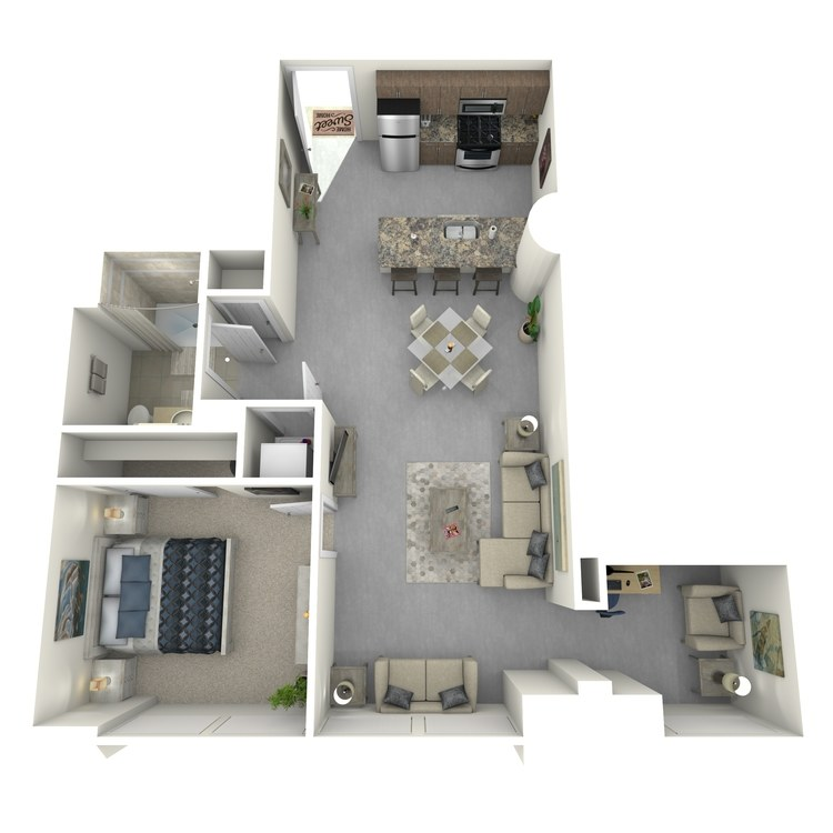 Floor plan image of Residence 53