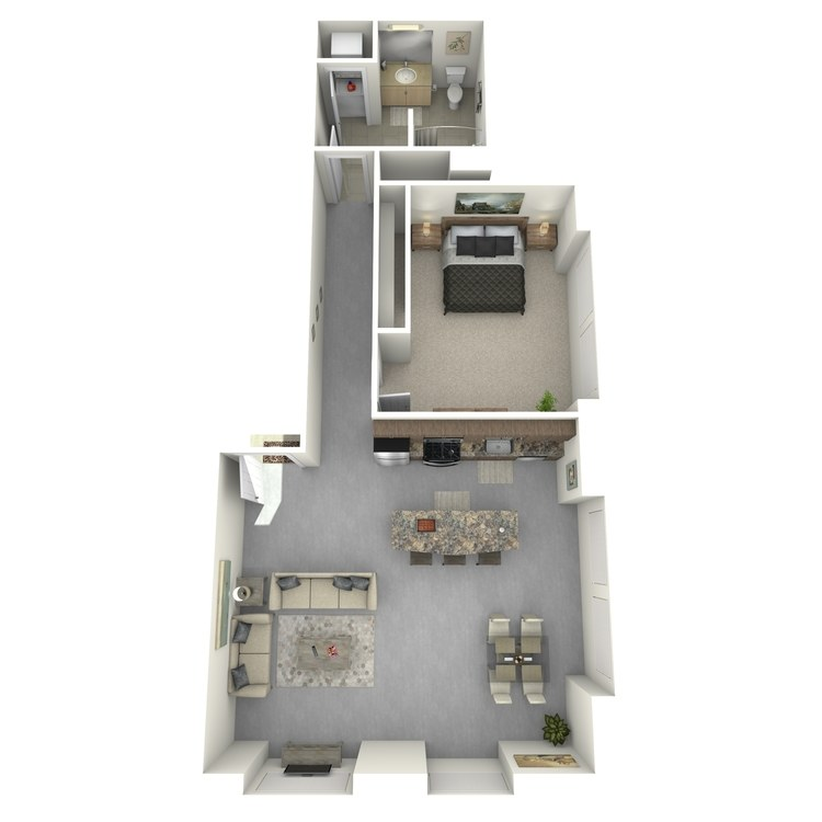 Floor plan image of Residence 34