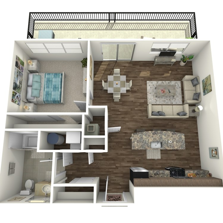 Floor plan image of Residence 74