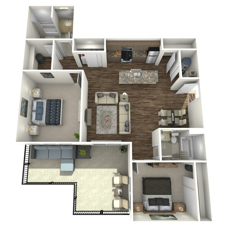 Floor plan image of Penthouse 15