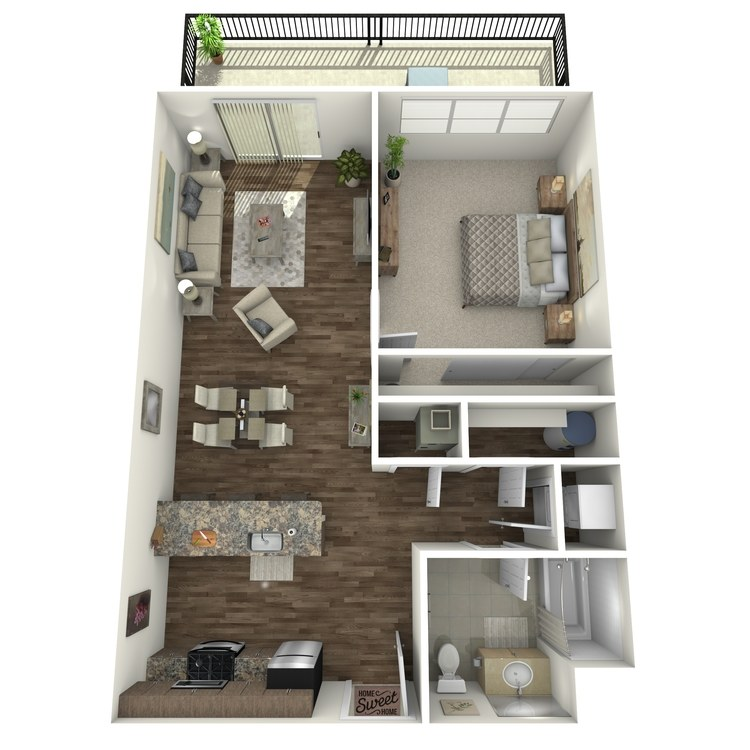 Floor plan image of Residence 36