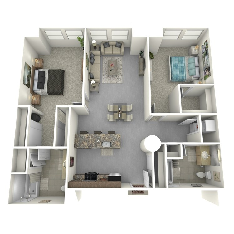 Floor plan image of Residence 09